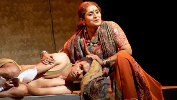 Scene from a drama acted by Surabhi