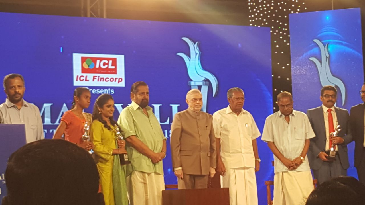 News18 Malayali of the year 2018