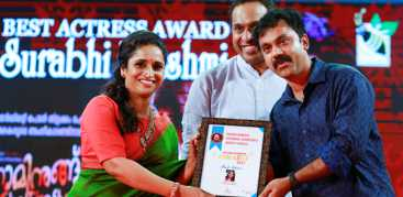 Cochin Haneefa Award 2017 for Surabhi