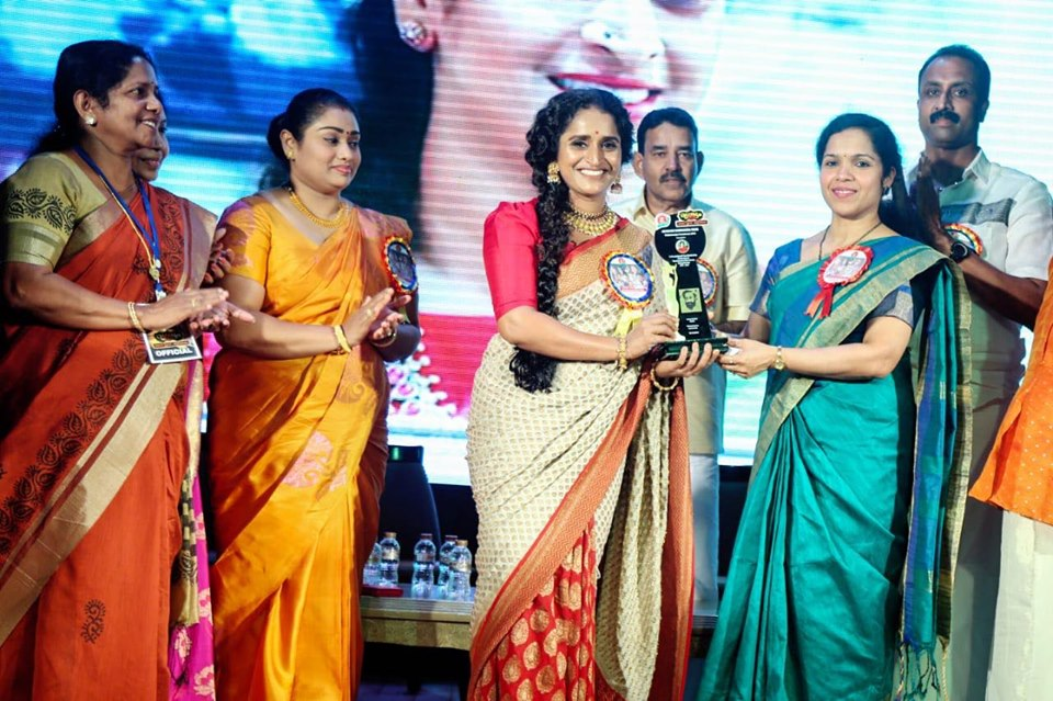 Surabhi was awarded Padmarajan Award 2019