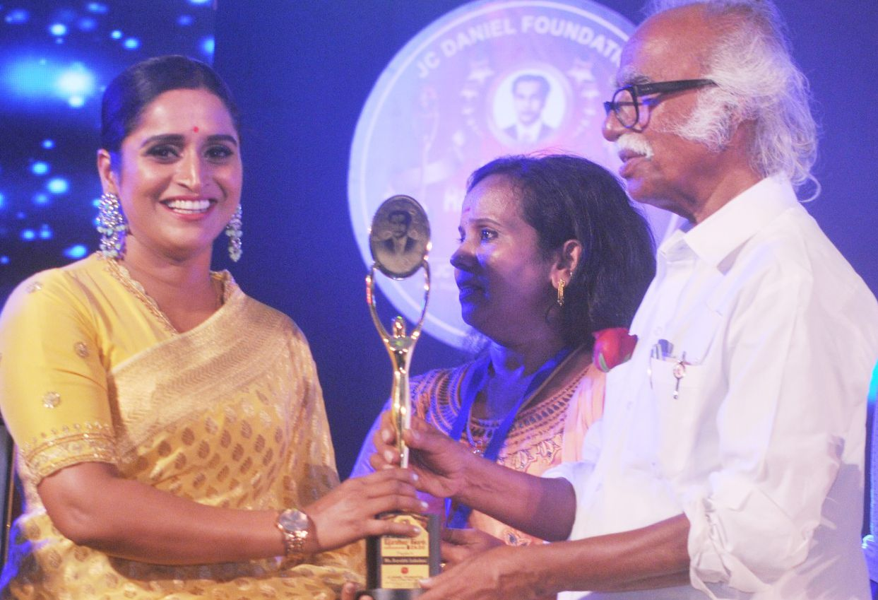 Surabhi Lakshmi wins 10th JC Daniel Rajaratna award